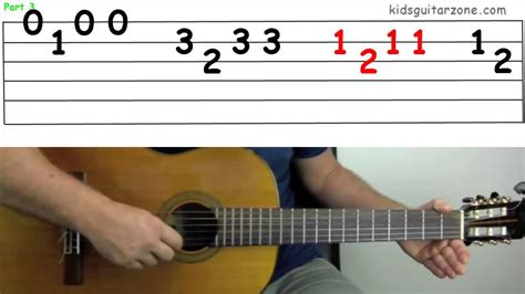 boat song tabs guitar lesson 4f the skye boat song youtube