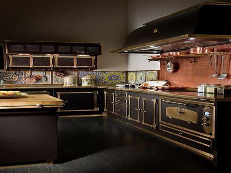 Kitchen Island With Barstools Steampunk Kitchen Highly Stylized Kitchen Plan Steampunk