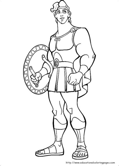 educational coloring pages com disney html hercules educational fun kids coloring pages and