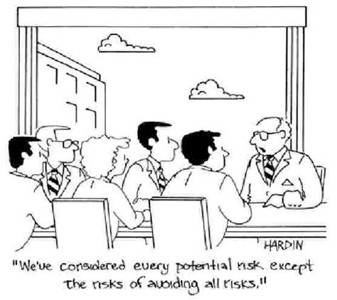 risk management humor cartoon funny jokes cartoons