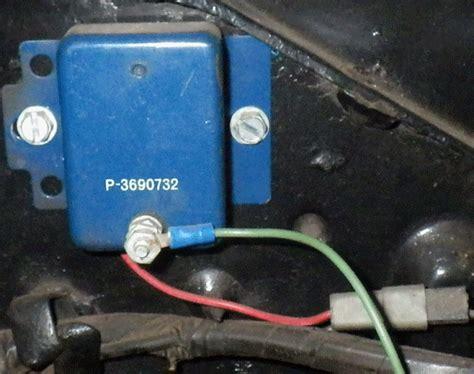 alternator field wire diode alternator connect field wire to itself for a bodies only mopar forum