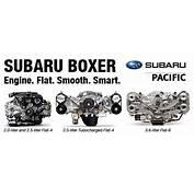 Subaru Boxer Engine Design Specifications &amp Options