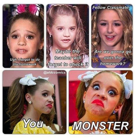 Mackenzie Meme - dance moms funny quotes google search by pics you must