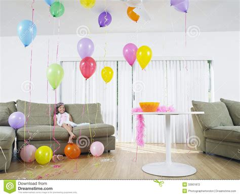 balloons in room sitting in living room of balloons stock photography image 33901872