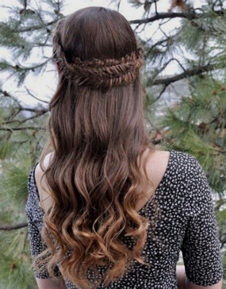 ethnic braid crown 15 cool hairstyles for teenage girls