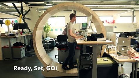 standing desk on wheels hamster wheel standing desk burn calories two