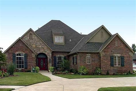 Brick Country House Plans by Plan 48005fm Attractive Country Exterior