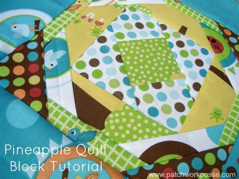 Pineapple Quilt Tutorial by Pineapple Quilt Block Tutorial