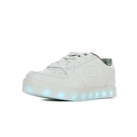 s lights energy lights elate skechers s lights energy elate 90601lwht baskets mode