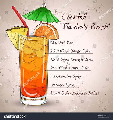 Planters Punch For A Crowd by Planters Punch Cocktail
