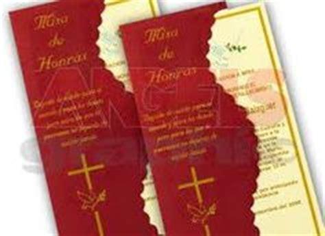 recordatorios para misa de honra como hacer tarjetas de invitacion a misa de difuntos