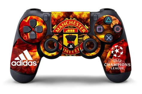 Dijamin Ps4 Skin Manchester United sticker manchester united pour manette playstation 4