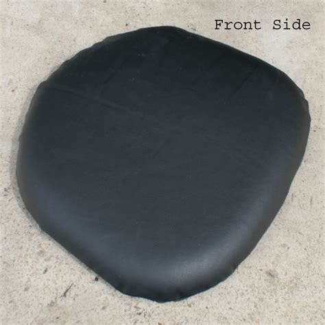Black Leather Cushions by Midcentury Retro Style Modern Architectural Vintage