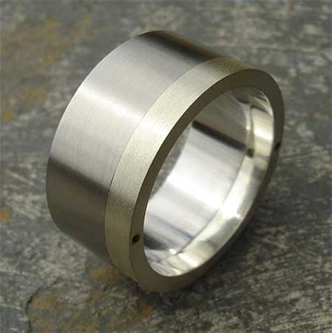 stainless steel gold mens wedding ring love2have in