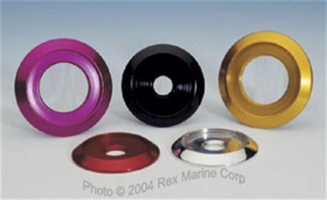 billet boat cleats rex marine billet bow rail quick pin cleat bezels