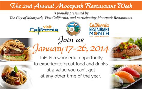 Website Of The Week Food Pairing by Moorpark Restaurant Week Food Pairing The