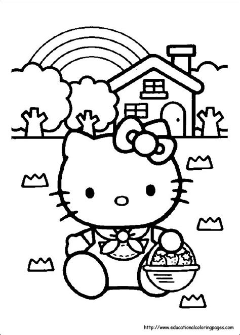 hello kitty coloring pages for thanksgiving hello kitty coloring pages free for kids