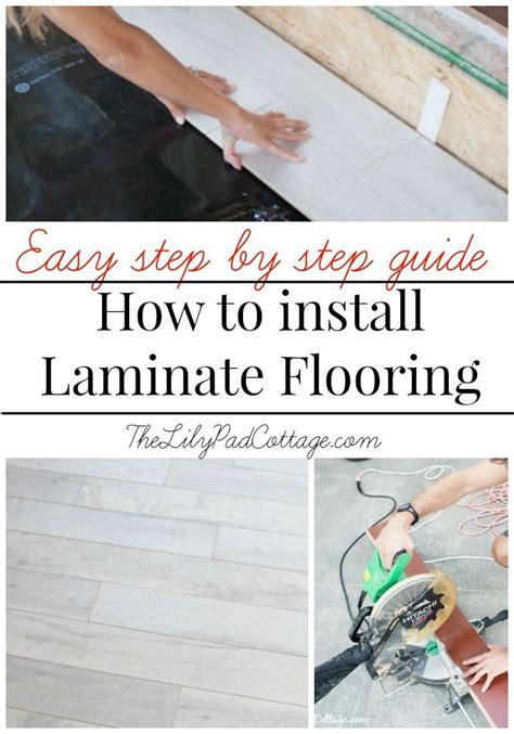 whom to hiring to install laminate flooring 25 best ideas about installing laminate flooring on