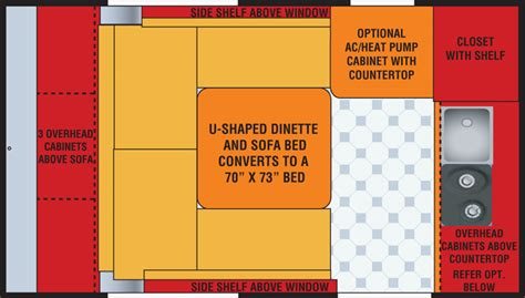 Classic 6 Floor Plan u floorplan little guy trailers