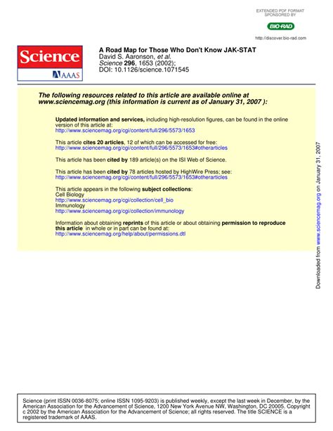 isi for array 100 isi for array articles journal of