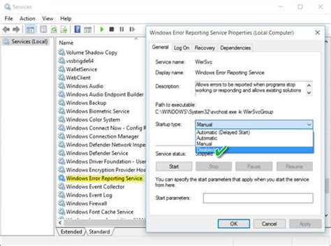 fix wermgr exe or werfault exe application error in windows 10 up with your devices