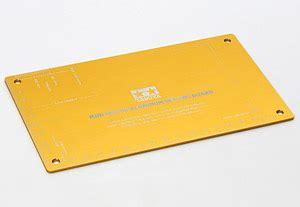 Tamiya Hg Aluminium Setting Board Gold mini 4wd hg aluminum setting board gold mini 4wd