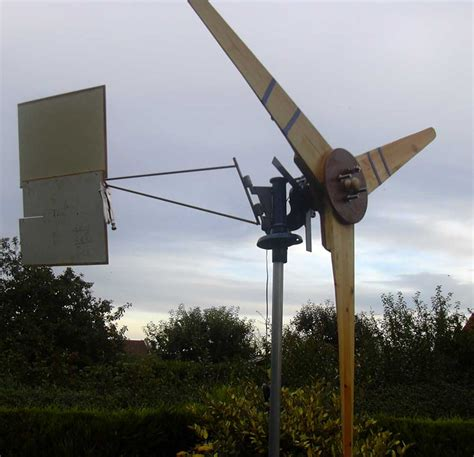 Handmade Windmill - build a wind turbine mk ii