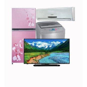 Harga Ac Sanken 3 4 Pk harga sharp paket special 3 tv mesin cuci kulkas ac