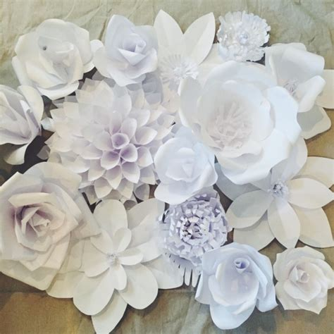Make Large Paper Flowers - large paper flower tutorial related keywords large paper