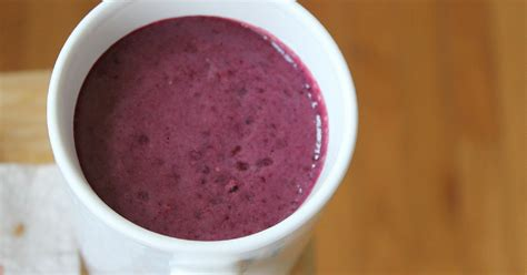 Recipe For Purple Power Detox Smoothie by Rachael Dr Ian Smith Purple Power Detox Smoothie