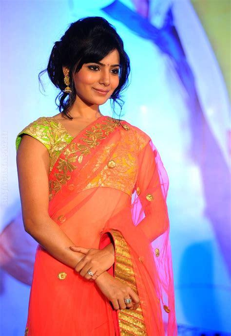 photos of heroine of makkhi south actress samantha in saree latest photos gateway to
