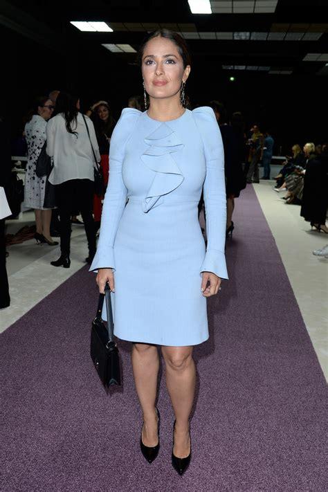 Fashion Salma salma hayek cocktail dress salma hayek looks stylebistro