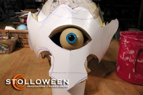 cyclops mask template how to cyclops stolloween