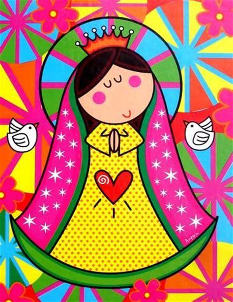 imagenes virgen maria caricatura dibujos de la virgencita distroillers mimundomanual
