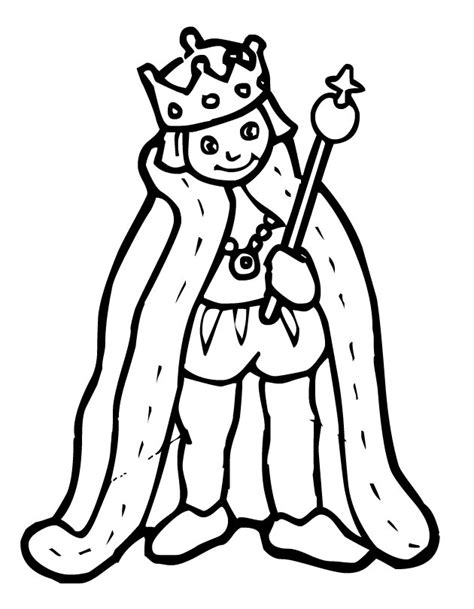 King Coloring Page Az Coloring Pages
