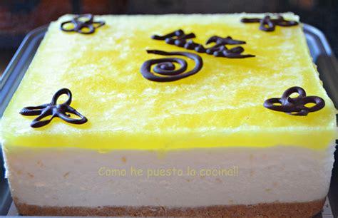 decorar tartas de limon como he puesto la cocina tarta mousse de limon thermomix