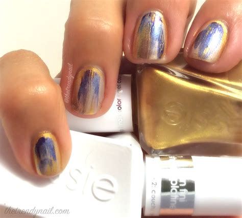 watercolor manicure tutorial video tutorial watercolor nails featuring essie gel couture