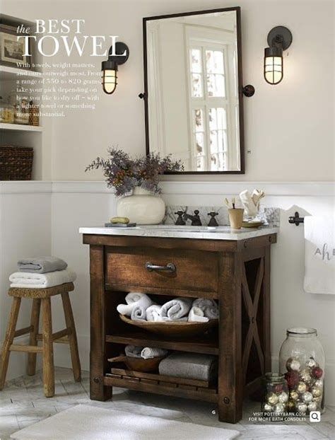 pottery barn bathroom decor for the home pinterest