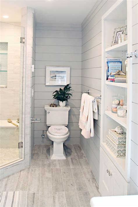 small master bathroom tile makeover design ideas 23