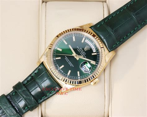 Rolex Villenia Gold Coulor Fashion Diskon rolex day date 36 mm green index yellow gold 118138 gxl ebay