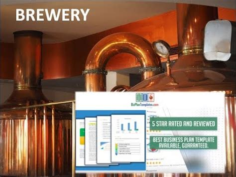 Brewery Business Plan Template Sle Youtube Brewery Business Plan Template