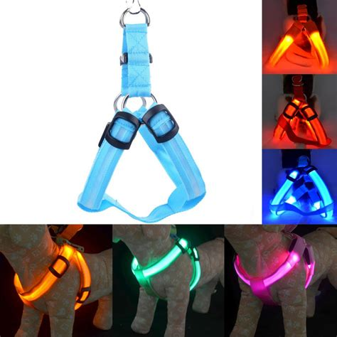 Width 1 5cm Collar safety led light harness collar