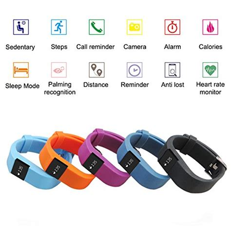 fitness tracker with rate monitor hembeer smart