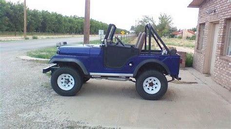 1970 Cj5 Jeep Sell New 1970 Cj5 Jeep In Artesia New Mexico United