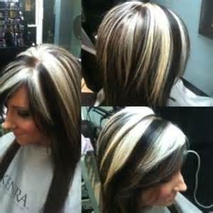 chunky highlights for hair images chunky blonde highlights on dark hair pictures
