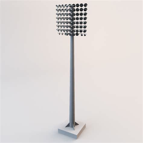 Stadium Lighting Fixtures 3ds Max Stadium Lights