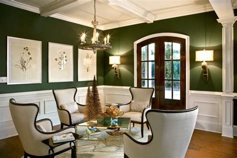 Living Room Ideas Green Walls by 23 Green Wall Designs Decor Ideas For Living Room