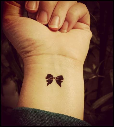 Sexy bow tattoos