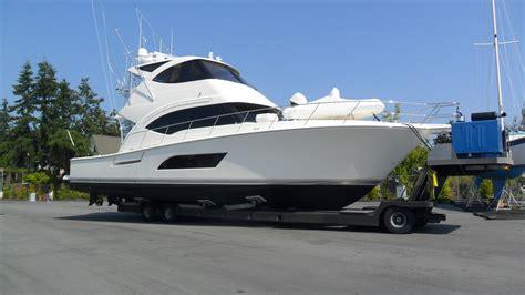 boat transport on trailer marina services van isle marina
