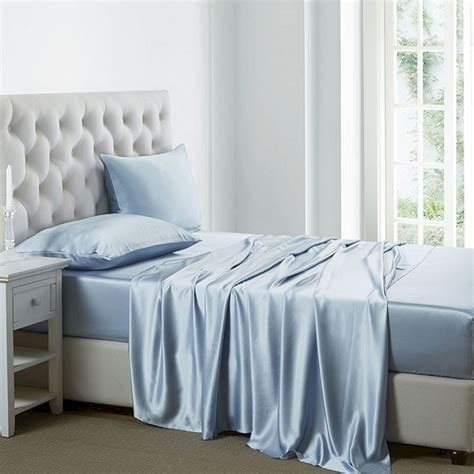 sexy bedding beautiful color silk bed sheets ideas 54 beautiful color